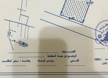 قطعة ارض في منطقة الكحيلي بالقرب من مسجد فاطمة الزهراء