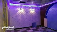 لأعمال الديكورات فلين جدار وسقف بلاستك جلد كافه انواع الديكورات