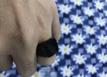 خاتمين مميزين جدا ستانستيل و ثقال جداد بورقتهم مقاس 21 و 22