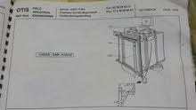 مصعد فيلا مركة اوتس للبيع جديد 3 ادوار