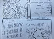 رض سكنية للبيع في الحيل الشمالية - السيب - بمساحة 3579 متر مربع   بالقرب من البحر