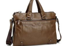 Stylish Unique leather Handbag Shoulder Bag Business Bag Laptop bag for Men