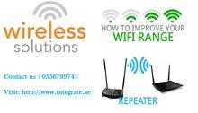 Office wireless complete network solution in JVC Dubai