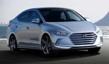 Hyundai Elantra 2016 for rent per Month