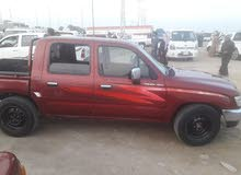 Manual Red Toyota 2002 for sale