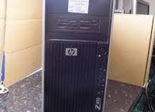 بيشيل2 هارد HP WORKSTATION Z400 XEON E5620/ كاش 12 ميجا رام 8 عرض خاص