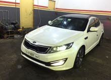 White Kia Optima 2013 for sale