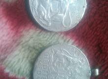 ميدالية فضية قديمه عدد2