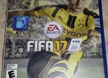 FIFA17 & Black ops   دسكتين Ps4
