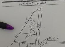 قطعة ارض 1910 م غوط الرمان سيدي بنور طريق البحر