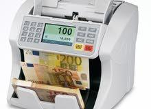 مكينه عد و كشف الأوراق النقدية - العملات - اجهزة كشف التزوير - كوري - صيني