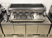 معدات الكافيه ماكينات القهوه ومطاحن البٌن استيراد ايطاليا