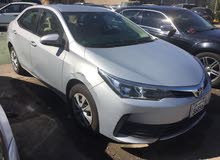 Toyota Corolla 2017 for sale by installments
