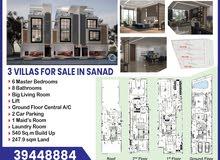 3vllas for sale in sanad