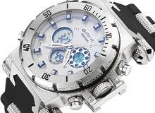 الساعة العسكرية كرونقراف الضخمة بسعر مميز