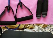 كيس ملاكمة مع جهازين نط الحبل