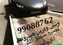 ونش وكرين هيدروليك لكافة مناطق الكويت