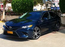 Blue Toyota Camry 2018 for sale