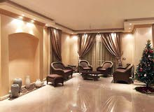 For Rent : stand alone villa in compound Belagio  - luxury finishing with furniture