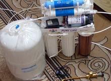 فلاتر ماء  شغال تمام مستعمل على خفيف للبيع