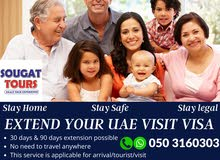Extend your UAE visit visa within 24 hours
