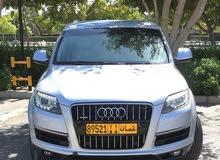 اودي Q7 وكالة عمان  موديل 2012 6سلندر تيربو بحاله جيده جدا
