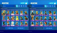 Fortnite account from s3 to chapter 2 season 7
