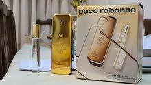 باكج عطر  one million paco rabanne  الاصلي :عطر 100 مل + travel spray  20 مل