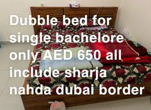 executive large bed space for 650 all include 3 mints to sharja border