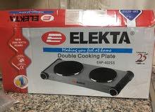 فرن كهربائي  Electa..electric oven double plate