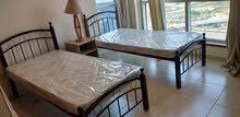 New Wooden Steel Single Bed Made in Malaysia With Medical Mattress
