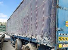 13.5 curtain trailer