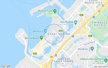 للإيجار غرفة و صالة بالمارينا- دبي -
