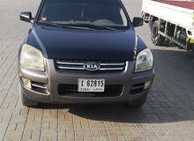 سيارة كيا سبورتاج 2005 بحاله ممتازه جير ماكينة تكيف بحالة ممتازة