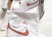 Brand New & Original Nike Air Force 1 '07 Essential White/rust Pink
