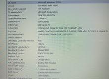 lenovo intel  core i5 thinkpad 4 GB , rare used