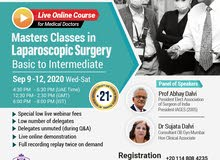 Masters Classes in Laparoscopy (Live Online Course for Medical Doctors)