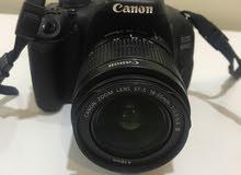 كاميرا كانون 600D للبيع