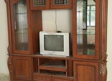 بوفيه تلفزيون مستعمل للبيع