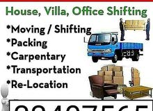 House items shifting moving transport available