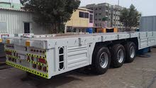 Flat trailer 03 Axle without side grill for sale