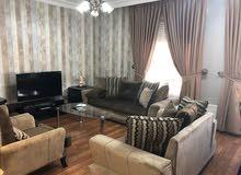 شقة مفروشة جديدة غير مسكونة لها اطلالة جميلة عبدون الشمالي مقابل اسواق البيدر بناية 49