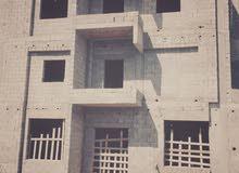هيكل 3 طوابق في منطقة عين زارة طريق الابيار للبيع