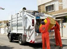 أعمال جمع ونقل القمامة المنزلية( النوفليين)