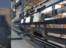 مطلوب ممول لمشروع تحويلي طلي المعادن من الحديد والالمنيوم