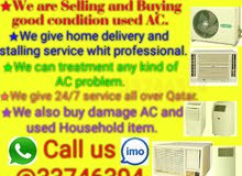 Used Air Condition selling and buying