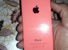 ايفون5c للبيع او مراوسه حسب الجهاز