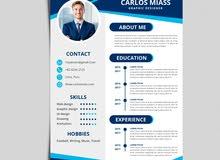 تصميم CV احترافى للتقديم والقبول فى كبرى الشركات
