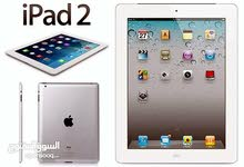 للبيع ايباد 2 FOR SALE IPAD 2 ,32 GB WIFI