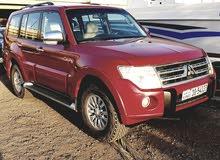Mitsubishi Pajero 2010 For sale - Red color